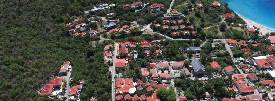 Vue panoramique de Colony Club E1 apartment