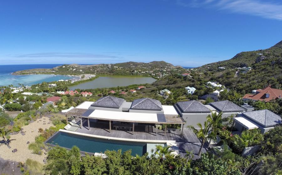 Panoramic view of Imagine Villa
