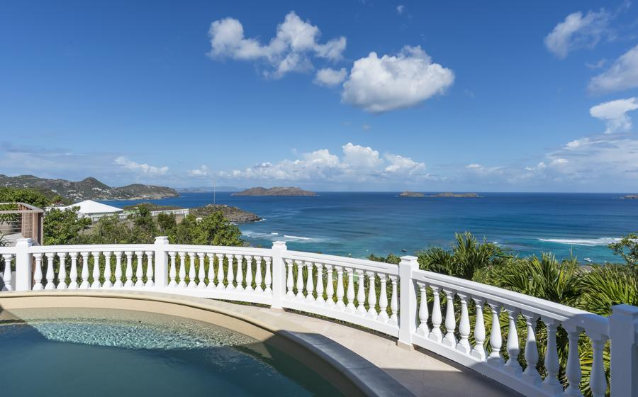 Panoramic view of Villa 21