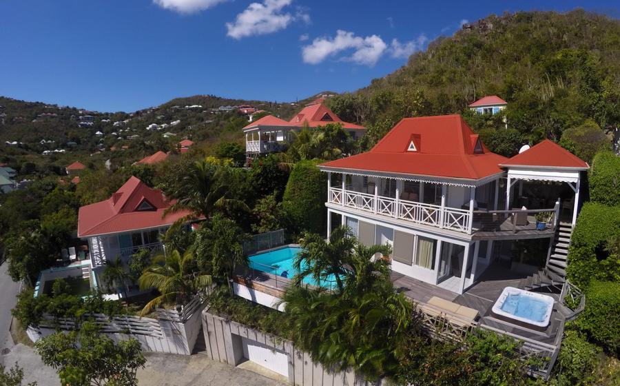 Vue panoramique de Ipanema villa